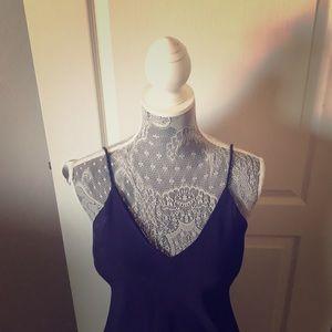 Stunning purple prom dress
